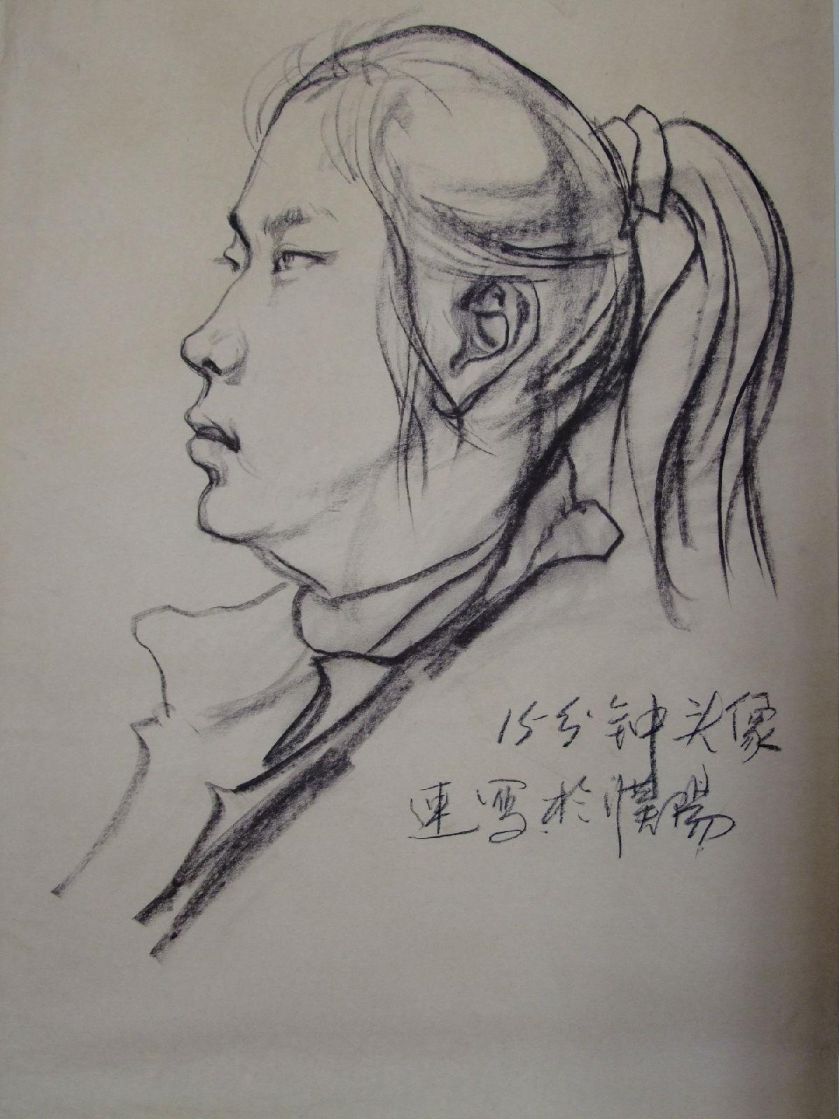 刘红选素描