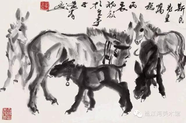 黄胄--驴世界